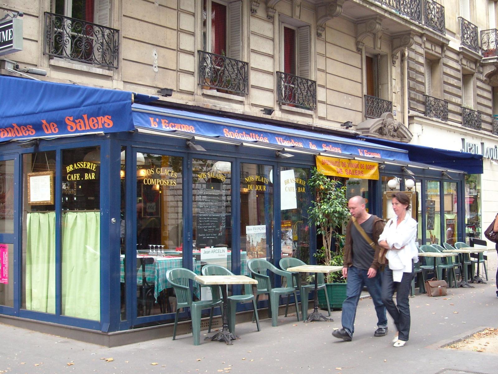 La Guéronnière Renovation Facade Boutique Bois Paris 2 1