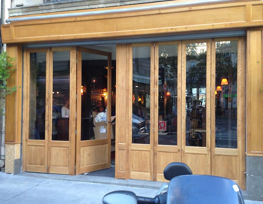 La Guéronnière Renovation Facade Boutique Bois Paris Img16 1
