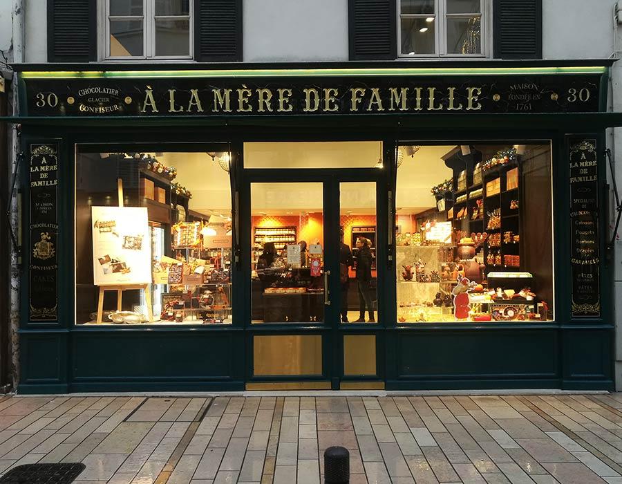 La Guéronnière Renovation Facade Boutique Bois Paris Img5 4