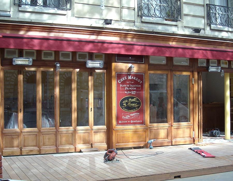 La Guéronnière Renovation Facade Boutique Bois Paris Img7 4