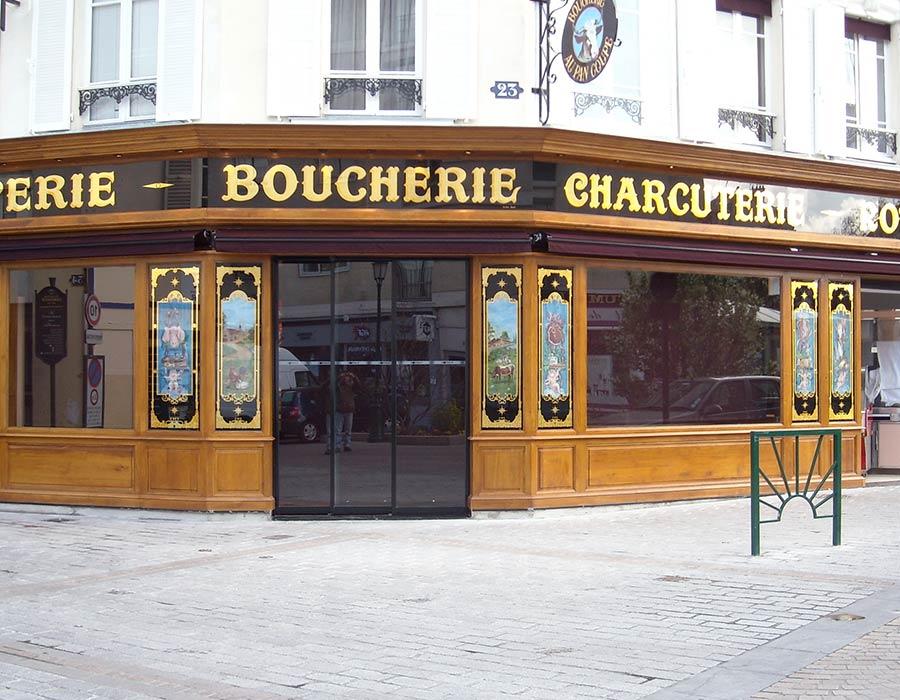La Guéronnière Renovation Facade Boutique Bois Paris Img9 3